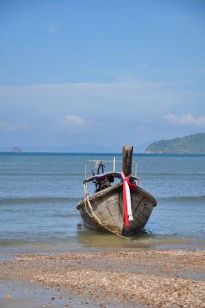 boat and sea Stock Photo