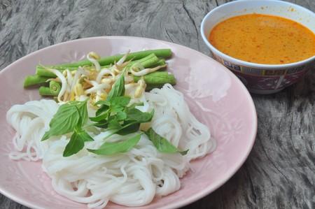 thai noodles style