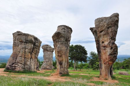 historical stone henge in thailand chaiyaphum province