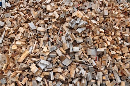 Small wooden chip