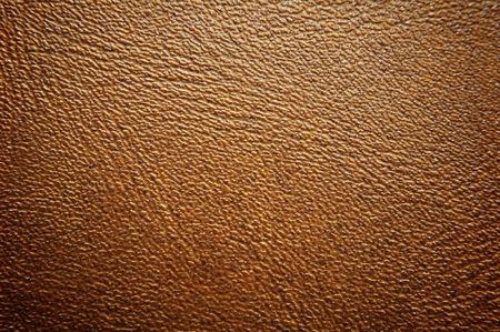 Bruine kleur leder textuur oppervlak Stockfoto