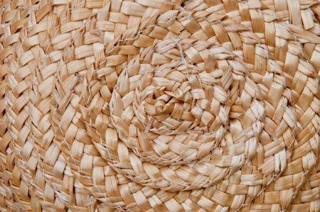 Handycraft hat texture detail photo