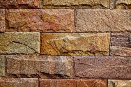Stenen muur achtergrond Stockfoto
