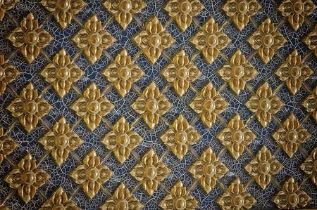 thai style texture wall background Stock Photo - 8330100