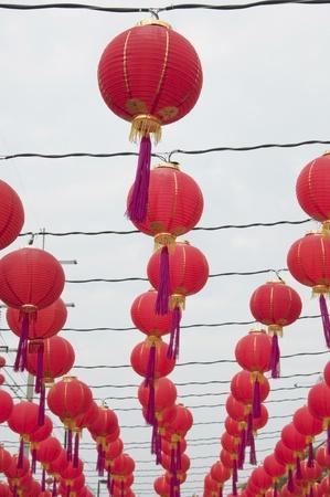 Chinese Lantern as white isolate background Stock Photo - 8765894