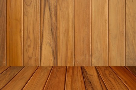 wood room with panel and texture Stock Photo - 9499470