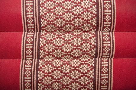 fait � la main de native tha�landais arri�re-plan de texture de coton Banque d'images - 9536475