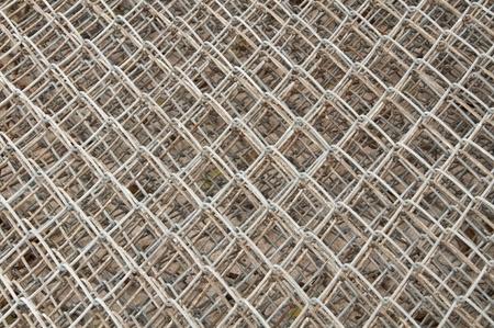 steel net background photo