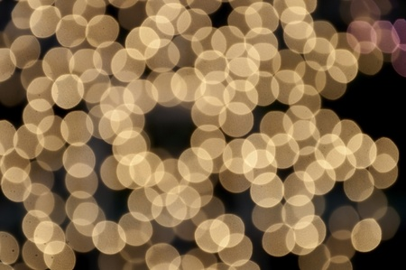 Abstract bokeh as black color background photo