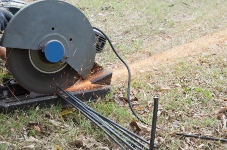 steel cutting machine photo