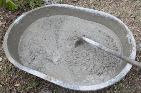 concrete mixing photo