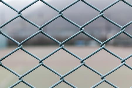Green color Steel net photo