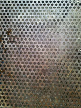 metal: An oil stained metal tray