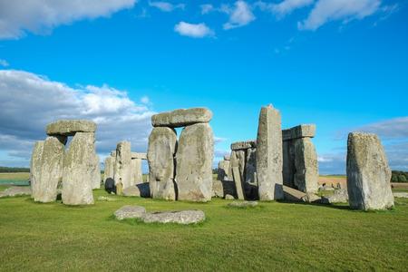 neolithic: Stonehenge: Una de las maravillas del mundo Foto de archivo