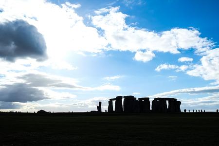 stonehenge stand among blue sky photo