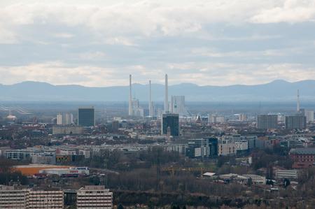 karlsruhe: Views of the Rhine Valley near Karlsruhe