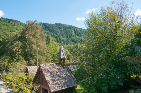 chapel: chapel in Black Forest Stock Photo