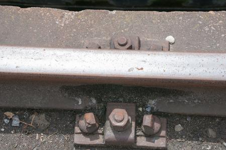 inseparable: Rail fastening