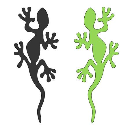 currents: Lizard Vector Graphics Illustration