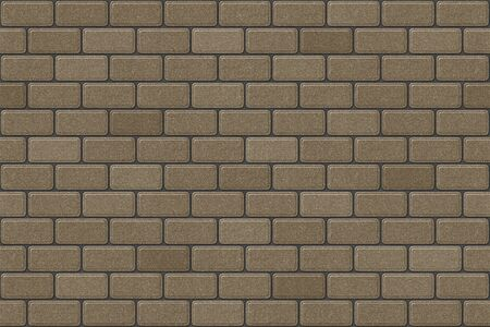 Example of pavement paving texture. General layout of pavers.