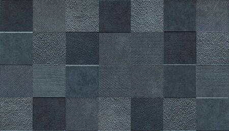 Covering mosaic tile lay texture for 3d graphics. Banque d'images