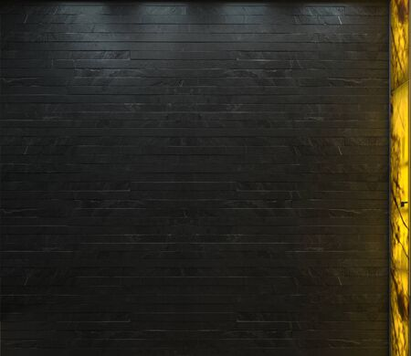 Empty room textured wall backdrop three dimensional render