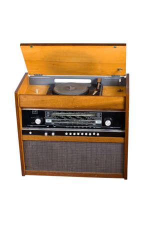 old radio receiver photo