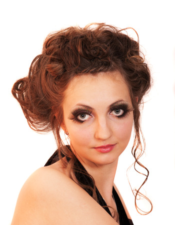fascinating: young girl with fascinating make-up