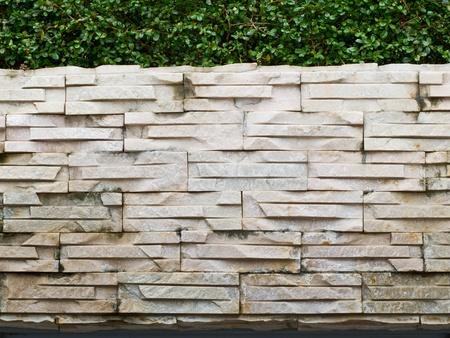 rough granite wall close up