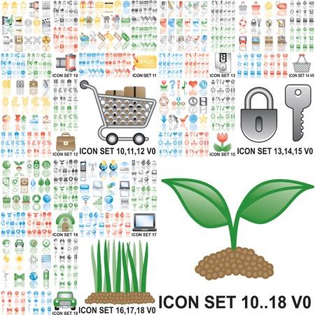 reforestaci�n: Iconos de m�s de 150