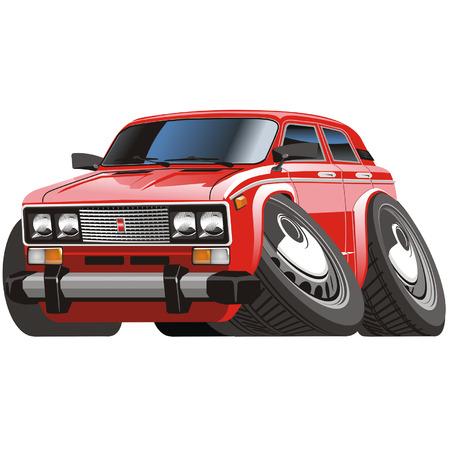 Vector cartoon auto