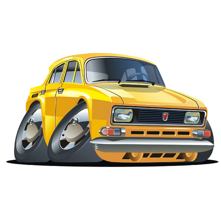 Vector cartoon car Stock Vector - 4000523