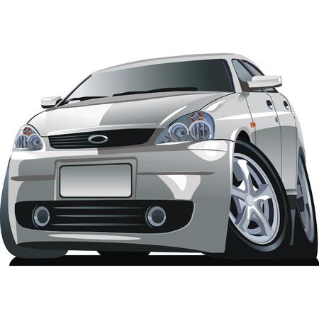 tiges: Vector cartoon voiture moderne Illustration