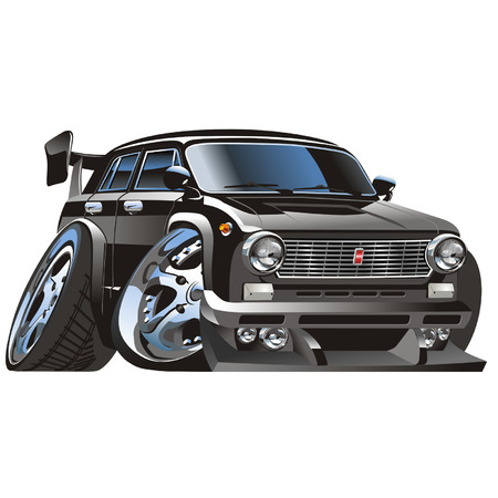 car vector: Vector muscle car Illustration
