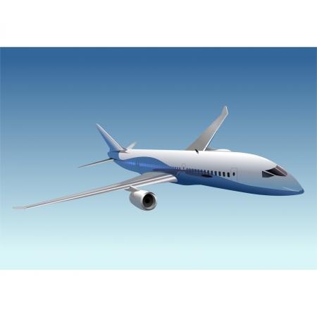 boeing: Vector passenger DreamLiner B-787 Illustration