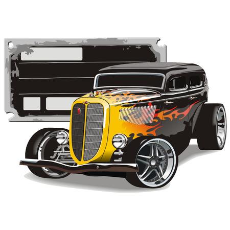 hotrod: Custom GAZ-M1 Hotrod