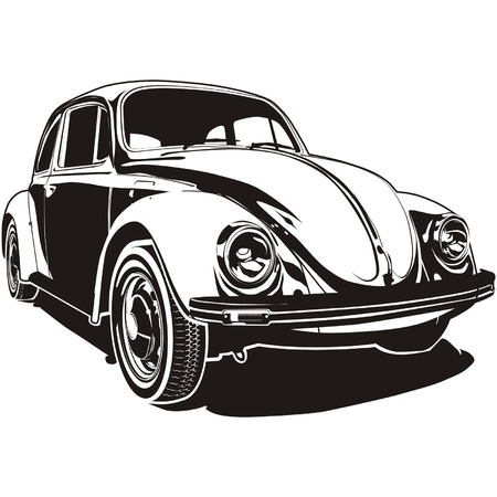 vector VW Bug Stock Vector - 4180998