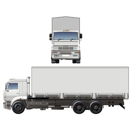 Vector camion