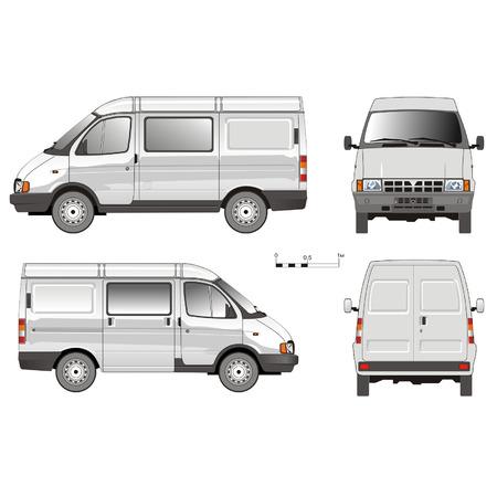 Vector Bezorging Van GAZ -2752
