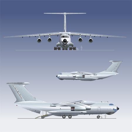 Vector deliverycargo airplane