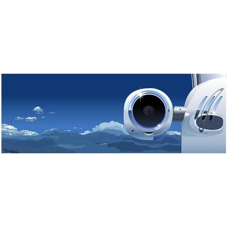 Vector Business Jet au Sky