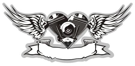 Vector Motorheart 2 Vector