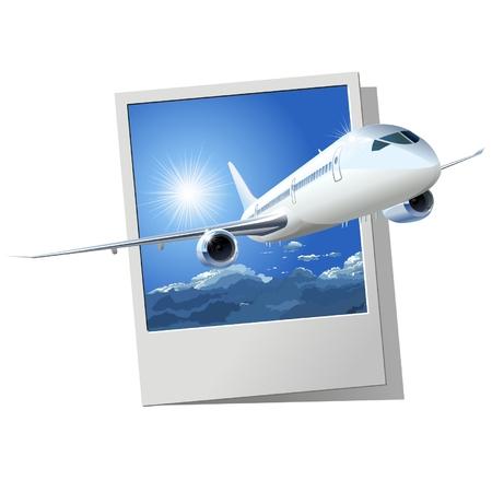 Vector passenger DreamLiner Stock Vector - 5125797