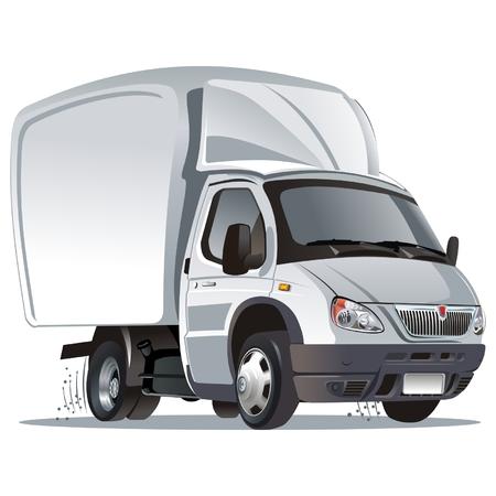 Vector cartoon cargo truck Stock Vector - 5705880