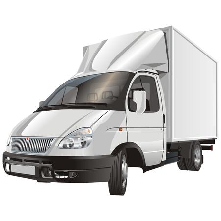 gaz: cargo truck Illustration