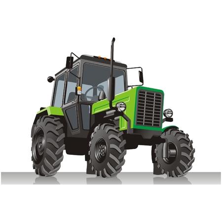tractor Stock Vector - 5800033