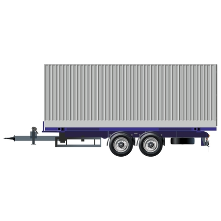 container freight: trailer