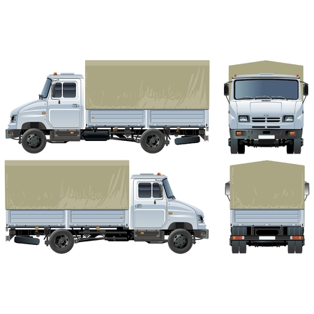 small business: delivery  cargo truck