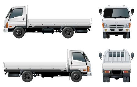 Vector delivery / cargo truck Stock Vector - 7150453