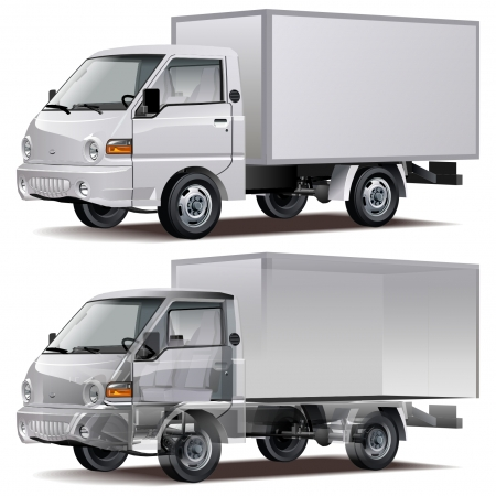 Vector delivery / cargo truck Stock Vector - 7212783